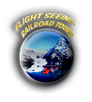 Flight-seeing and railroad tours.